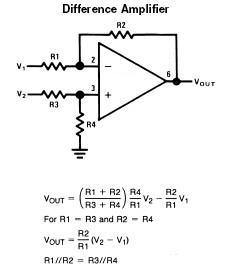 diference-operational-amplifier