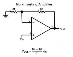 non-inverting-operational-amplifier