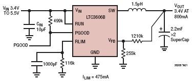 LTC3606B synchronous buck regulator