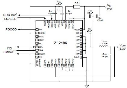 ZL2106 power supply circuit diagram