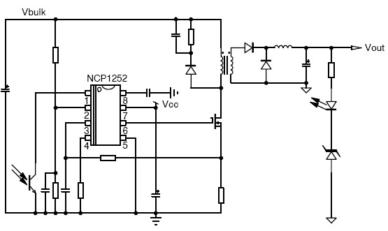 NCP1252 Current Mode PWM controller