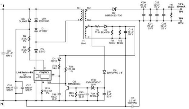 high power led driver circuit