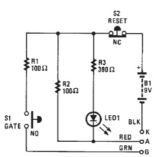 SCR tester circuit diagram  swchematic