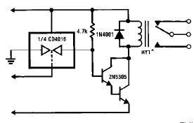 LM1830 level sensors circuit diagram