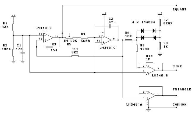 1343114 also Led Pattern Circuit Diagram further File Op   Precision Rectifier  Improved in addition Function Generator Circuit besides Subwoofer Active Crossover With Lm741 Ic. on operational amplifier schematic