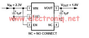 ADP120 linear regulator power supply circuit