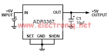 adp3367 5v regulator
