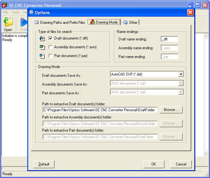 SE CNC Converter Personal software download