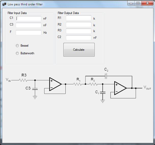 speaker box active filter calculator