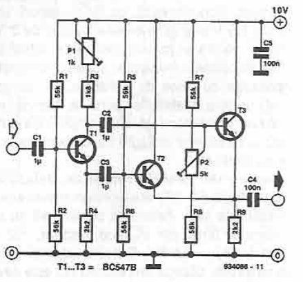 Frequency doubler circuit digram