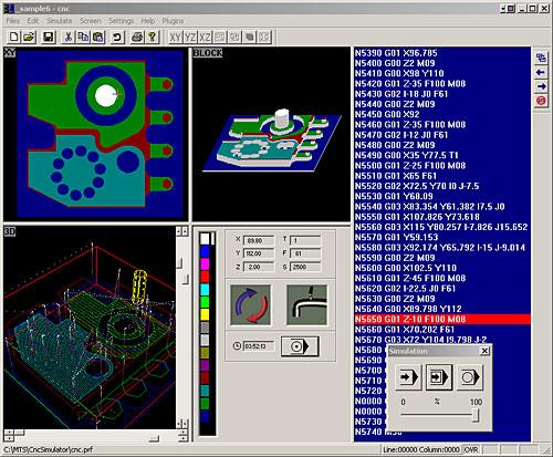 CncSimulator software