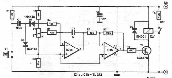 Heater circuit diagram
