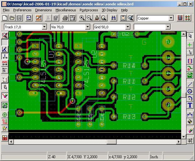KICAD PCB software download