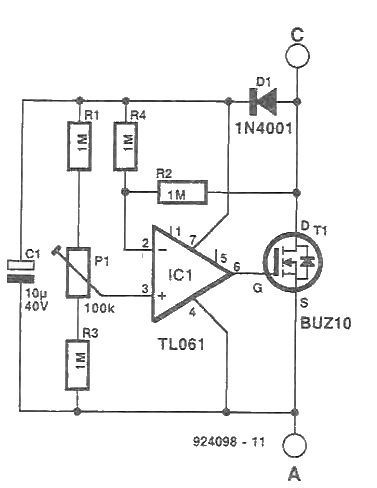 alternative diode circuit