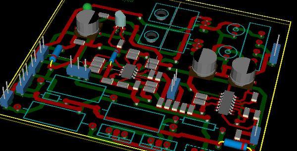 pcb design 3d