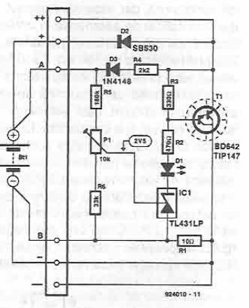 Voltage regulator for solar panel circuit