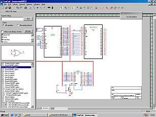 TinyCAD pcb editor