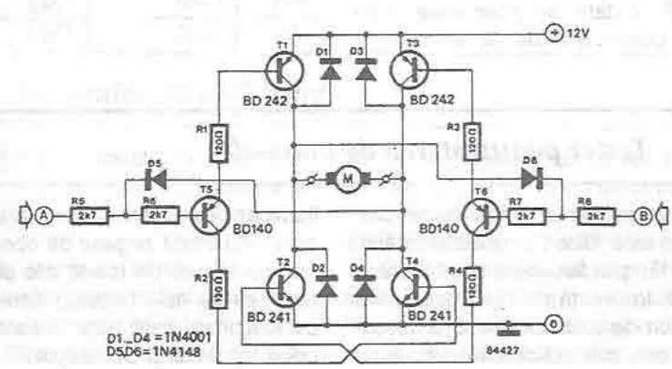 12-volt motor driver electronic project