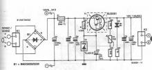 12V voltage stabilizer circuit diagram