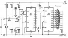 Color lights organ circuit diagram