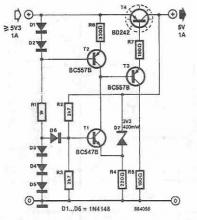 5V voltage regulator circuit