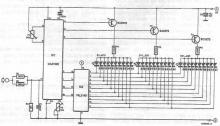CA3162 handheld voltmeter circuit diagram