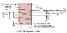 12 to 2 volts dc converter circuit diagram LTC3604