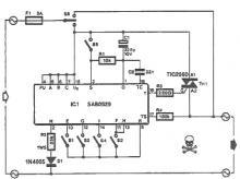 SAB0529 programmable timer circuit