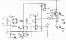 LM723 0-30V adjustable power supply circuit diagram