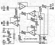 Duplex audio communication system circuit