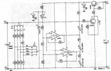 Battery state tester circuit diagram