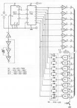 Cable tester electronic project circuit diagram using logic gates