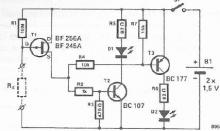 Continuity tester electronic project