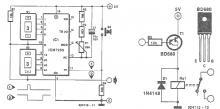 ICM7250 timer circuit diagram