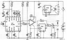 Infrared receiver for audio signal circuit diagram`