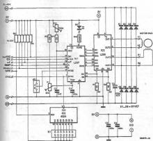 L297-L298 stepper motor driver electronic project