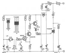 Light sensitive switch circuit diagram