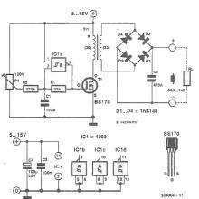 Low power variable voltage converter
