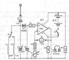 RF power detector circuit