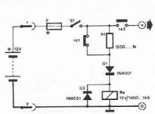Safety polarity circuit conection diagram