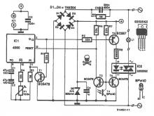 Light sensitive switch circuit diagram