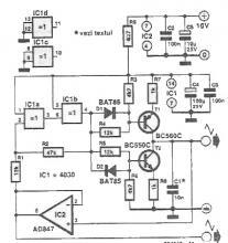 Triangular wave signal generator circuit