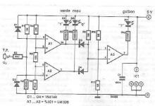 TTL tester circuit diagram