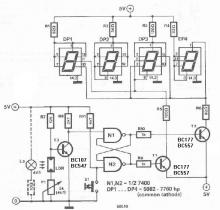 Warning mailbox electronic project circuit design schematic