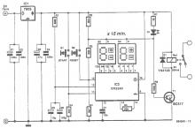 XR2240 timer circuit project