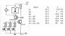 Zener diode tester electronic circuit project