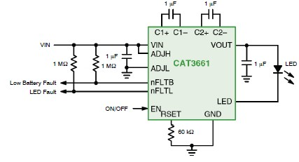 cat3661 led driver circuit diagram