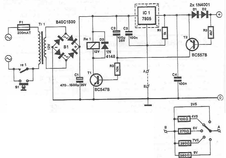 High current power supply circuit