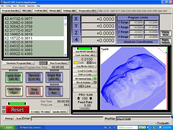 Mach3 CNC software download