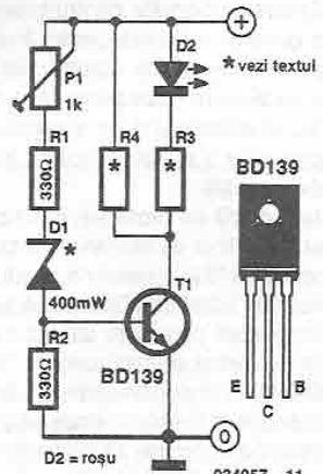 Batteries discharger circuit